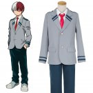 Free Shipping  My Hero Academia Katsuki Bakugo Cosplay costume uniform Male