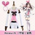 Free Shipping  Kizuna AI Cosplay Costume