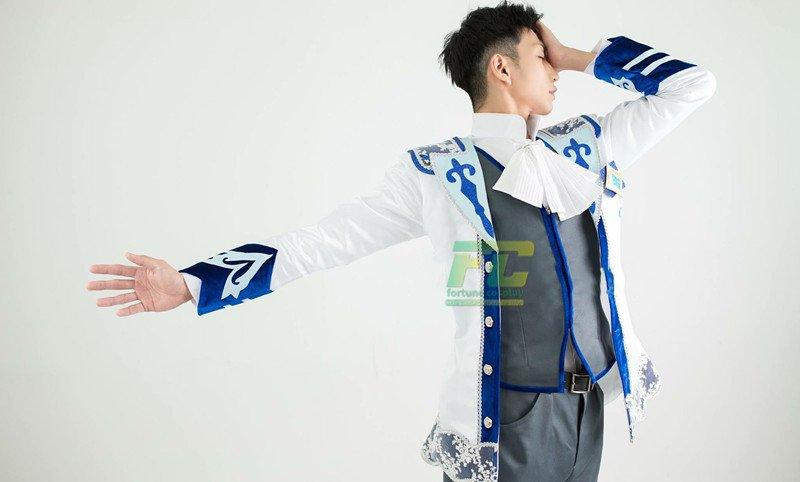 Free Shipping  Yuri on Ice Otabek cosplay costume