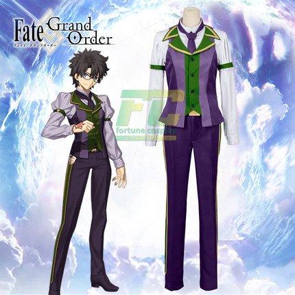 Free Shipping Fate Grand Order Protagonist Ritsuka Fujimaru Cosplay Costume