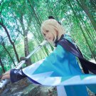 Free Shipping Okita Souji Cosplay Sakura Saber Fate Grand Order Anime Cosplay Custume