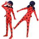 Free Shipping Kid's Miraculous Ladybug Cosplay Costume