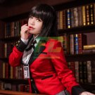 Free Shipping Kakegurui Jabami yumeko Compulsive Gambler Cosplay Costume