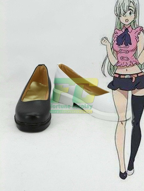 Free Shipping  The Seven Deadly Sins Elizabeth Liones Cosplay Shoes