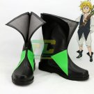 Free Shipping The Seven Deadly Sins Dragon's Sin of Wrath Meliodas cosplay Shoes Boots