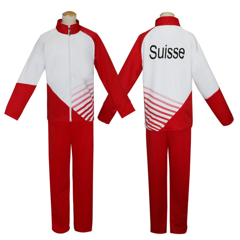 Free Shipping  Yuri!!! on Ice Cosplay Clothes Christoph Giacometti Cosplay Costume