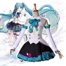 Free Shipping  Vocaloid 2017 Magical Mirai Concert Hatsune Miku Cosplay Costume