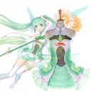 Free Shipping  Vocaloid 2017 Racing Miku Cosplay Costume Dress Complete Outfit