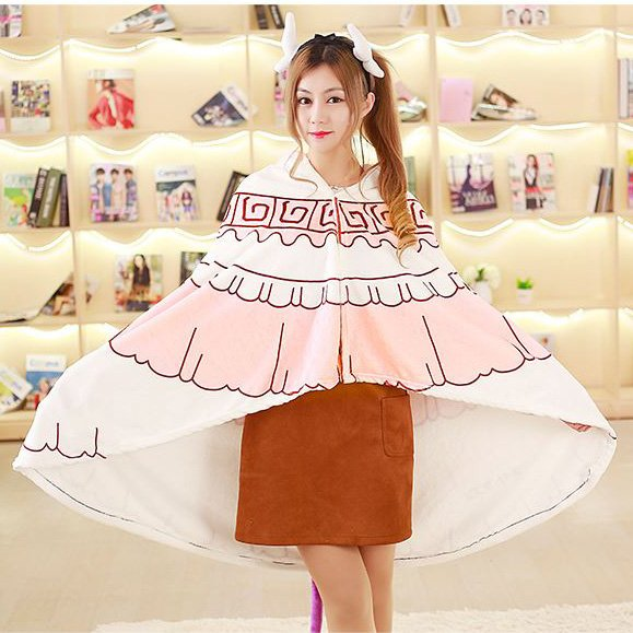 Free Shipping Miss Kobayashi's Dragon Maid Kamui Kanna Dailywear Cosplay Cape