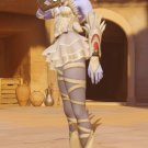 Free Shipping Overwatch Widowmaker Huntress Skin cosplay costume Halloween Christmas Event