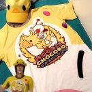Free Shipping Final Fantasy XV Noctis Lucis Caelum Cosplay T-shirt Hat FF15 Moogle Chocobo Costume