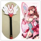Free Shipping Overwatch D.VA DVA magic wand Puella Magi Madoka Magica cosplay prop
