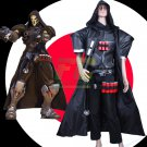 Free Shipping Overwatch Reaper cosplay costume Halloween Christmas Event