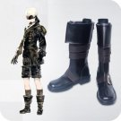 Free Shipping  NieR: Automata 9S cosplay Shoes Boots Custom Made