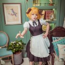 Free Shipping Anime Restaurant to Another World Aletta Maid Dress cosplay costume