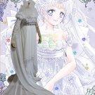 Free Shipping Sailor Moon Princess Serenity Dress Tsukino Usagi Dulex Cosplay Costume