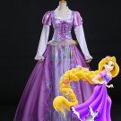 Free Shipping Tangled Rapunzel Princess Dress Halloween Cosplay Costume