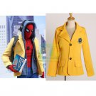 Free Shipping Spider Man Spiderman Homecoming Peter Parker Yellow jacket cosplay costume