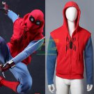 Free Shipping Spider-Man Spiderman Homecoming Peter Cosplay Costume Pullover Hoodies Sweatshirt