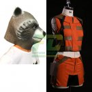 Free Shipping Guardians of the Galaxy Rocket Raccoon Cosplay Costume