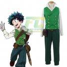 Free Shipping  My Hero Academia Deku Izuku Midoriya Cosplay Costume Season 2 ED
