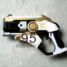 Overwatch Mercy Weapon Pistol Cosplay Props High Density PVC Gun