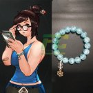 Free Shipping Overwatch OW Mei Bracelet Cosplay props Accessory
