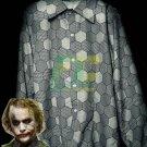 Free Shipping Batman Dark Knight Joker Shirt Cosplay Costume Long Sleeve Blue Spring Shirts