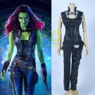 Free Shipping Guardians of the Galaxy Film Gamora Cosplay Costume Custom Made