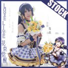 Free Shipping Lovelive!! Bouquet Hand Flower Awaken Tojo Umi Kotori cosplay costume Lolita Dress
