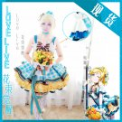 Free Shipping Lovelive!! Bouquet Hand Flower Awaken Eli Ayase cosplay costume Lolita Dress