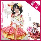 Free Shipping Lovelive!! Bouquet Hand Flower Awaken Nico Yazawa  cosplay costume Lolita Dress