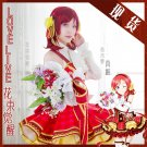 Free Shipping Lovelive!! Bouquet Hand Flower Awaken Maki Nishikino cosplay costume Lolita Dress