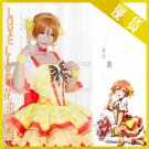 Free Shipping Lovelive!! Bouquet Hand Flower Awaken Rin Hoshizora cosplay costume Lolita Dress