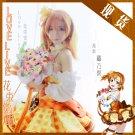 Free Shipping Lovelive!! Bouquet Hand Flower Awaken Honoka Kousaka cosplay costume Lolita Dress
