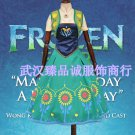 Free Shipping Frozen Fever Anna Cosplay Costume Custom Made
