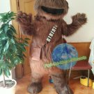 Free Shipping Chewbacca Cookie Elmo Monster Star Wars Mascot costume Halloween Party