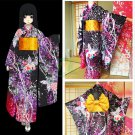 Presale Free Shipping Hell Girl Season 4 Enma Ai Cosplay Costume Floral Kimono
