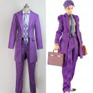 Free Shipping  JoJo's Bizarre Adventure Part 4 Kira Yoshikage Custom Made
