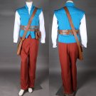 Free Shipping Tangled Rapunzel prince Flynn Ryder cosplay costume Custom made