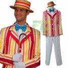 Free Shipping Mary Poppins Bert cosplay costume Custom Made