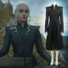 Free Shipping Daenerys Targaryen cosplay costume custom made Dress Game of Thrones Season 7