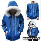 Free Shipping Undertale Sans jacket Hoodie Sweater cosplay costume