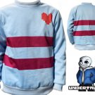 Free Shipping Undertale Frisk Cosplay  costume Hoodie Sweater
