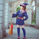 Free Shipping Little Witch Academia Akko Kagari Dress Uniform Outfit Anime Cosplay Costumes