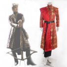 Free Shipping Game of Thrones King Joffery Prince Cosplay Costume Custom Made