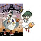 Free Shipping My Hero Academia Midoriya Boku no Hero Academia Halloween skin Nendoroid