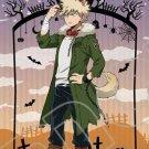 Free Shipping Boku no Hero Academia Denki Kaminari Halloween Skin Cosplay Costume