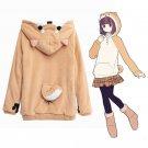 Free Shipping Harajuku Japanese Kawaii Doge Women Hoodies Sweatshirts Casual Jacket