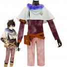 Free Shipping Anime Black Clover Cosplay Costume Yuno Men Cosplay Costume